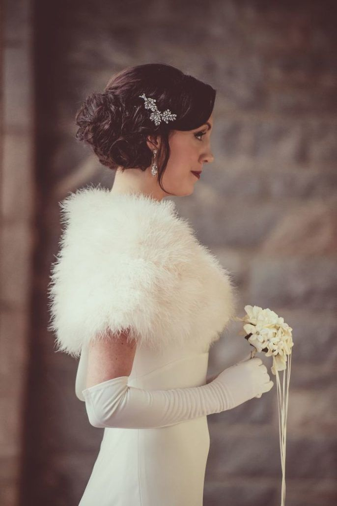 Winter Bride via Knotsville : Carla Ten Eyck Photography 1