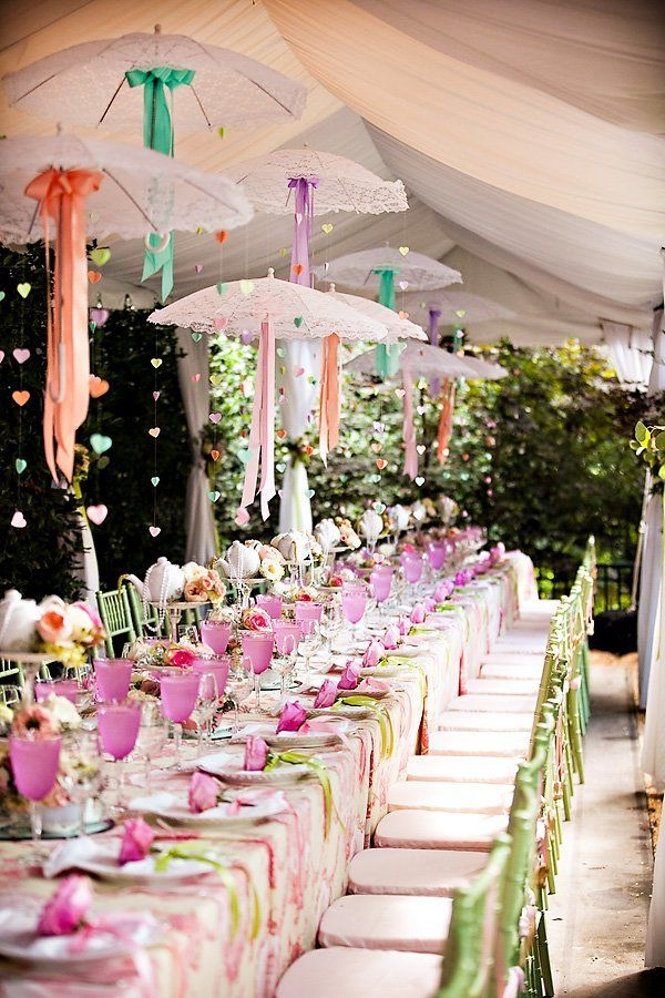Garden Tea Party Bridal Shower by Bride Blossom NYCs Only