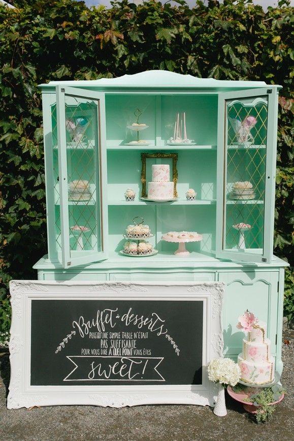 garden tea party bridal shower by meghan brunetti via handmade bride