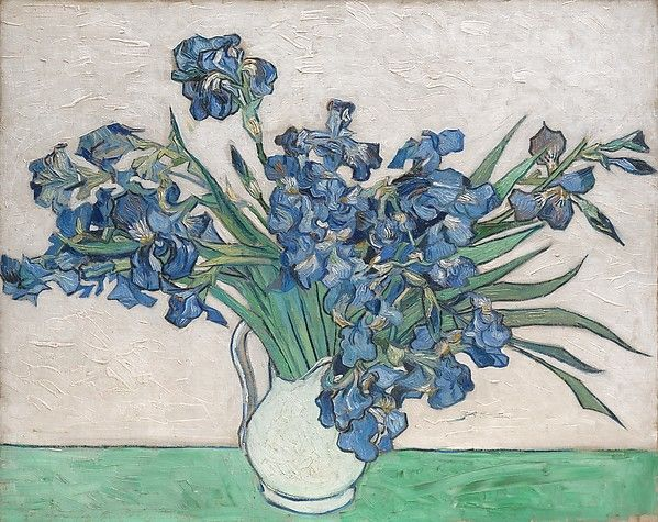 Irises - Painting by Vincent van Gogh - via MetMuseum.org