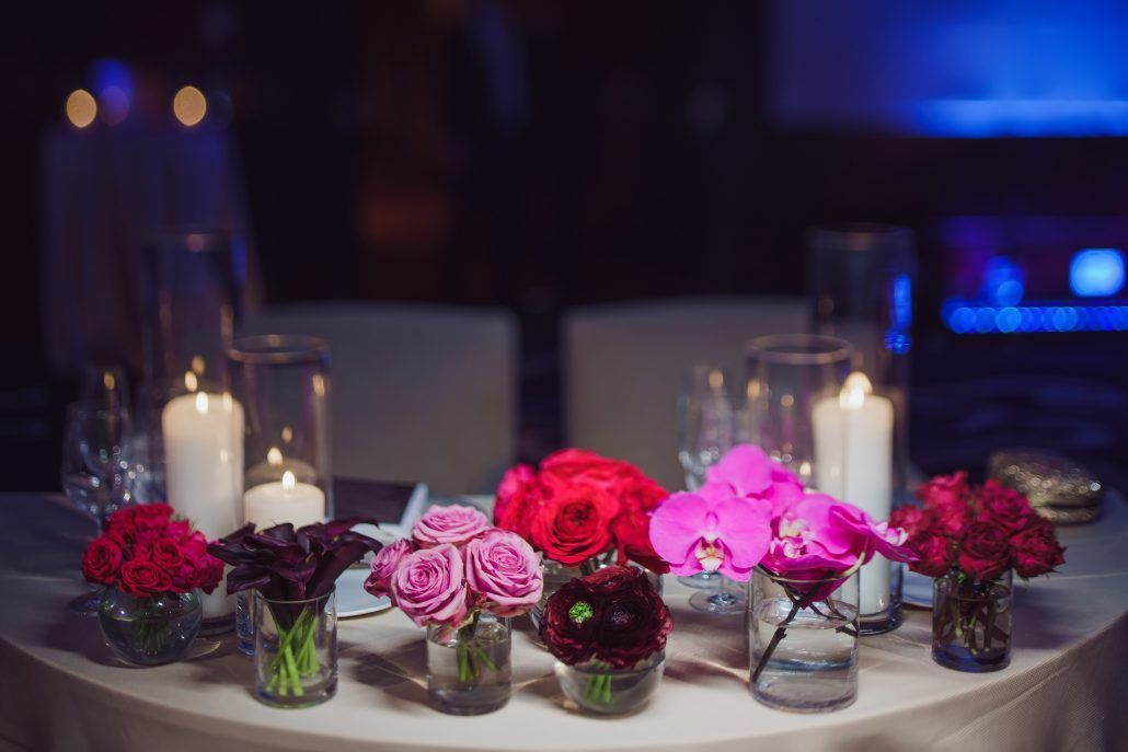 Joann & Michael Wedding - Sweetheart Table - Mandarin Oriental NYC - Photography by Ryan Brenzier