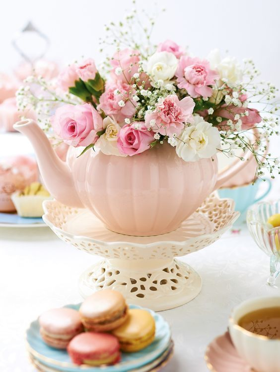 Garden tea party bridal shower by bride blossom nyc s