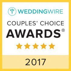 Wedding Wire - Couples Choice Awards 2017 - Badge