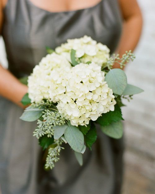 Wedding White Hydrangea: By Bride & Blossom, NYC's