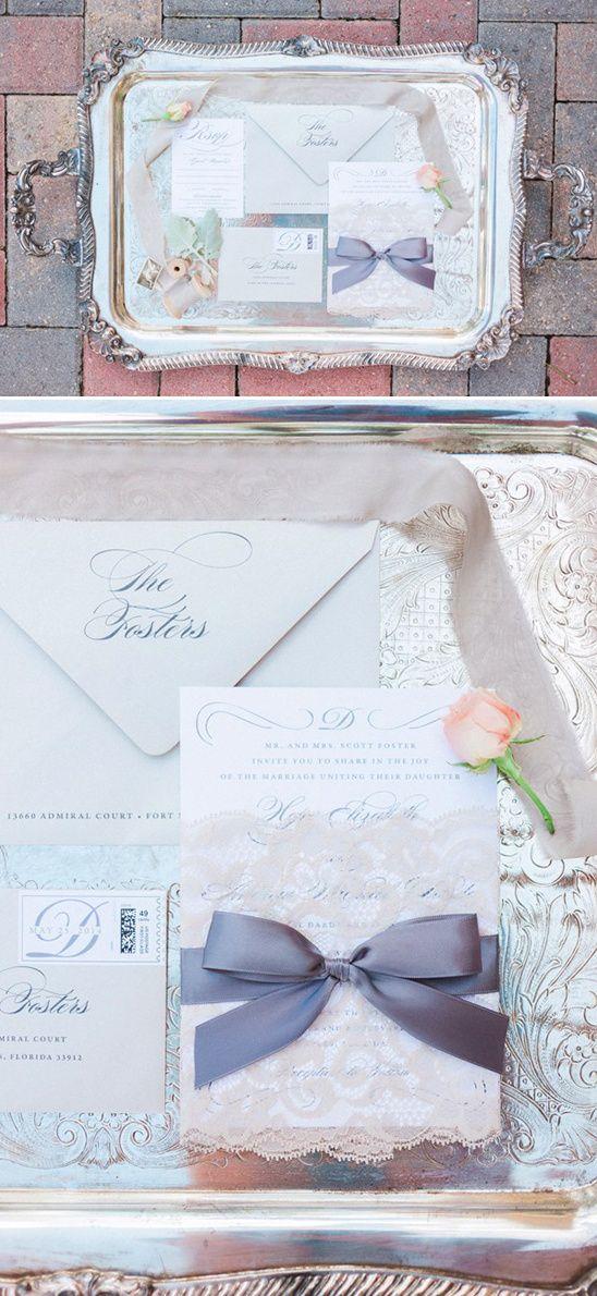 Elegant Vintage Romantic Wedding - Hunter Ryan Photography - via Wedding Chicks.com