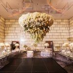 Ina & Kevin Wedding - Hanging Floral - The Park Hyatt NYC - Christian Oth Studio