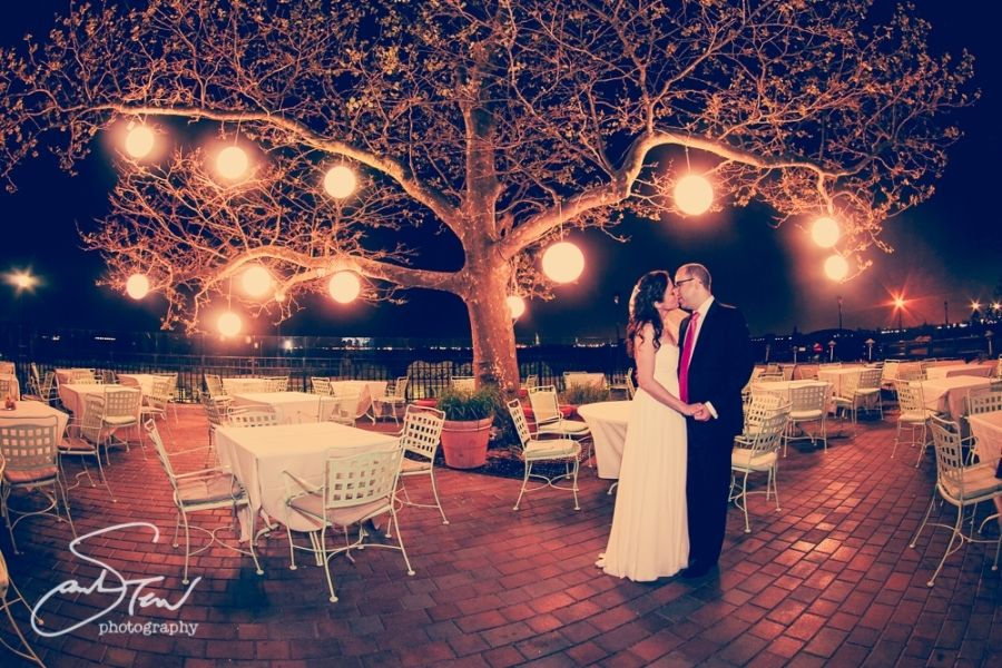 Julie & Ryan - Spring Wedding - Battery Gardens - Photo by Sarah Tew Photography