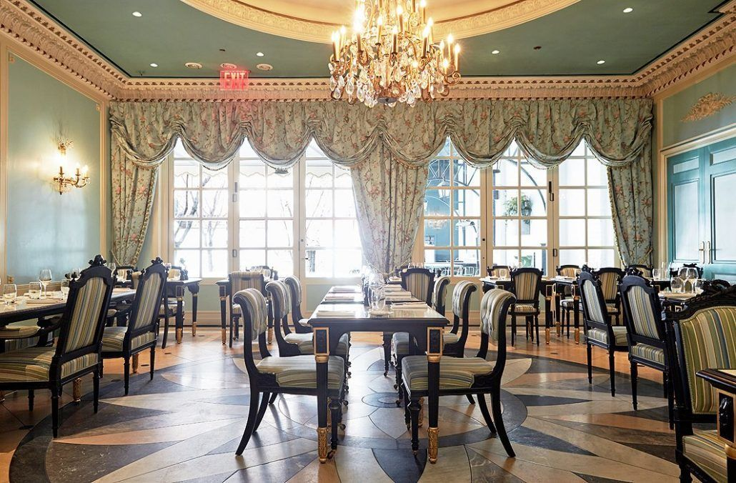 18th Century Ballroom - Laduree - NYC - via One Kings Lane