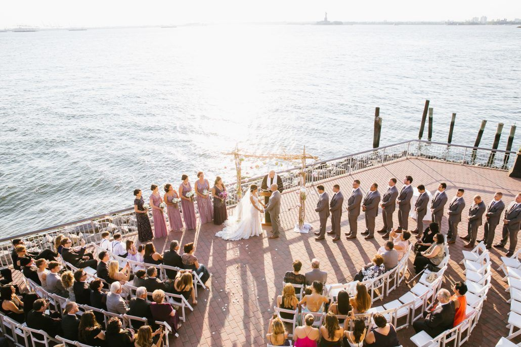 Amanda and Donald - Ceremony View - Liberty Warehouse - Photography by South Eleventh