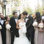 Anna & Matthew Wedding - High Centerpieces - Pierre Hotel NYC - by Brett Matthews
