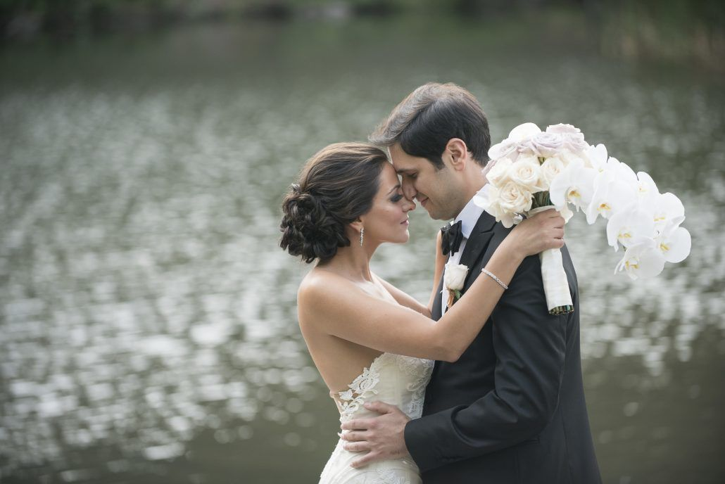 Anna & Matthew Wedding - Bride and Groom - Pierre Hotel NYC - by Brett Matthews