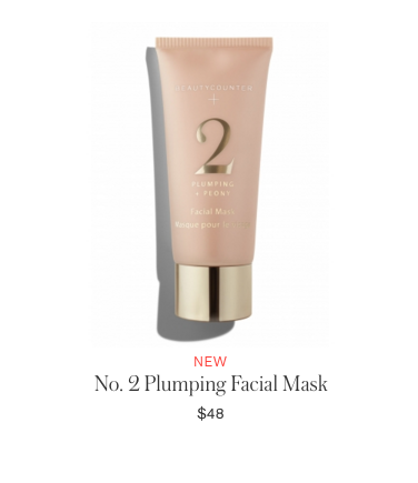 Beautycounter Products - No2 Plumping Facial Mask - via Beautycounter.com