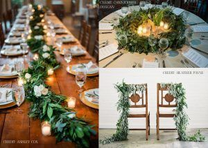 Bride & Blossom Winter Greenery Garland Class