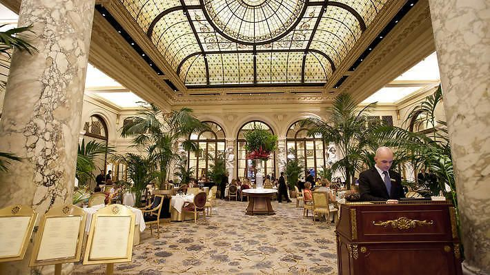 The Palm Court at the Plaza - via The Time Out.com