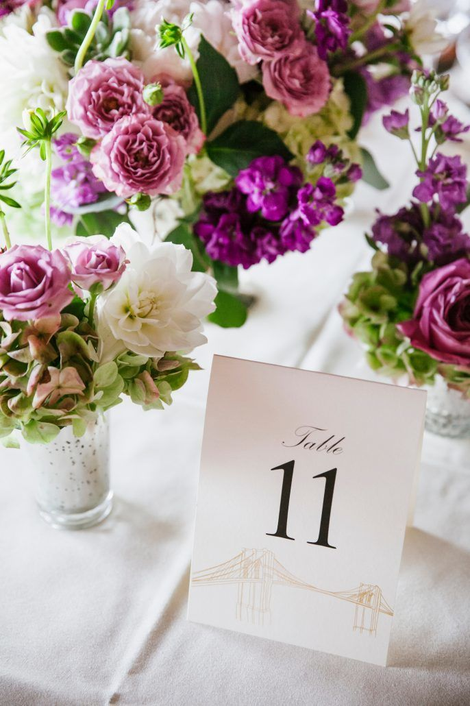 Amanda and Donald - Table Numbers - Liberty Warehouse - Photography by South Eleventh