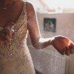 Bride Spraying Perfume - Paula OHara Photography - One Fab Day - via Something Turquoise.com