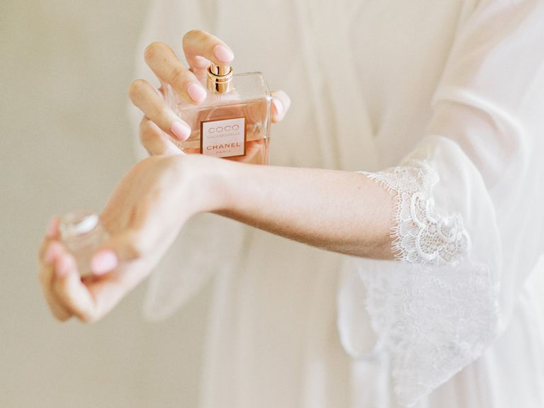 How to Choose Perfume for My Wedding Day - Photo by Amy Arrington Photography - via TheKnot.com