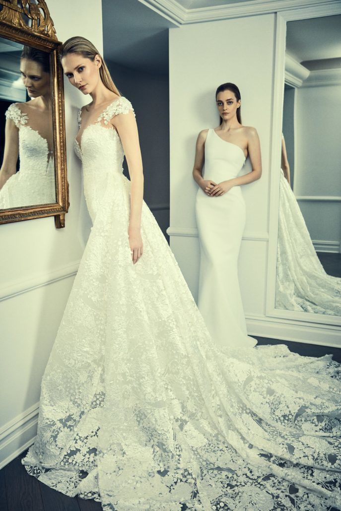 New York Bridal Fashion Week 2018 - Romona Keveza Collection - via Romona Keveza.com