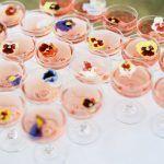 Oregon Summer Camp Wedding - Leslie and Christopher - Floral Cocktails - via 100 Layer Cake.com