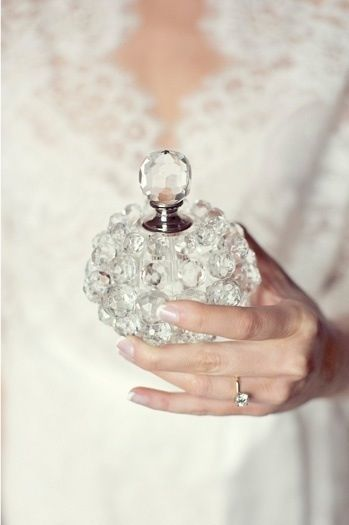 Perfume Bottle - Wedding Day Perfume - via Pinterest.com