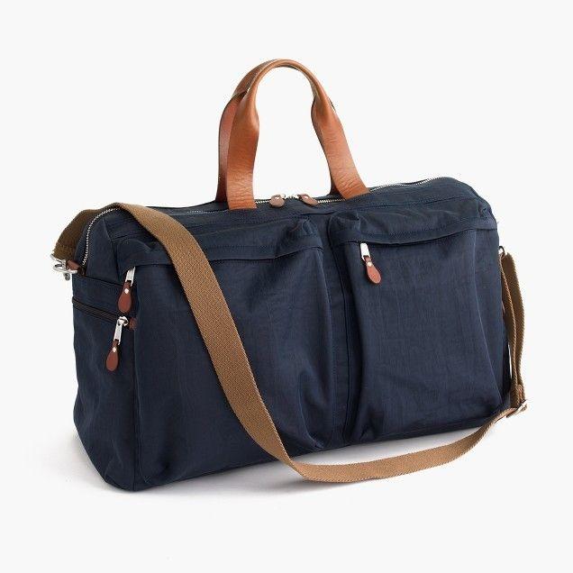 Weekender Bag - Harwick Weekender Bag - J.Crew - via J Crew.com