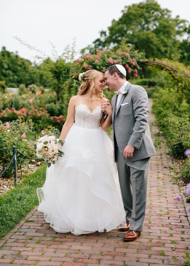 Cammie & Peter Wedding - Bridal Bouquet - Brooklyn Botanic Gardens - Photo by Nicki Sebastian Photography