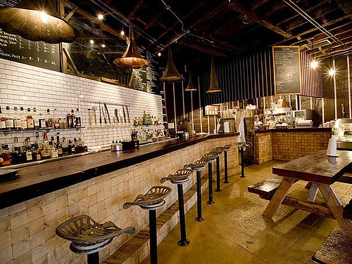 Fette Sau Restaurant - BBQ Restaurant - New York City - Engagement Party Venue Ideas - via Fette Sau BBQ.com