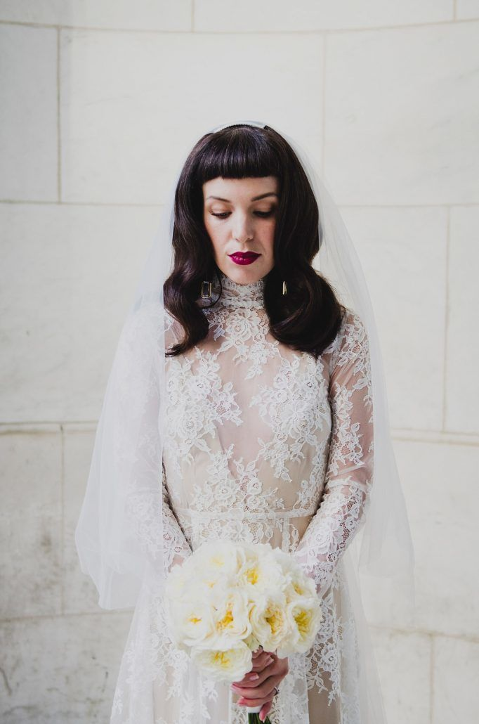 Shareen Vintage - Bridal Shop - NYC - by Khaki Bedford Photography - via shareen.com