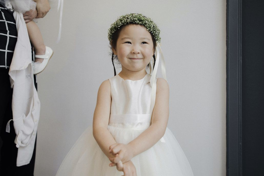 Alice & Chris - Flower Girl - Crown - Babys Breath - 620 Loft & Garden - Samm Blake