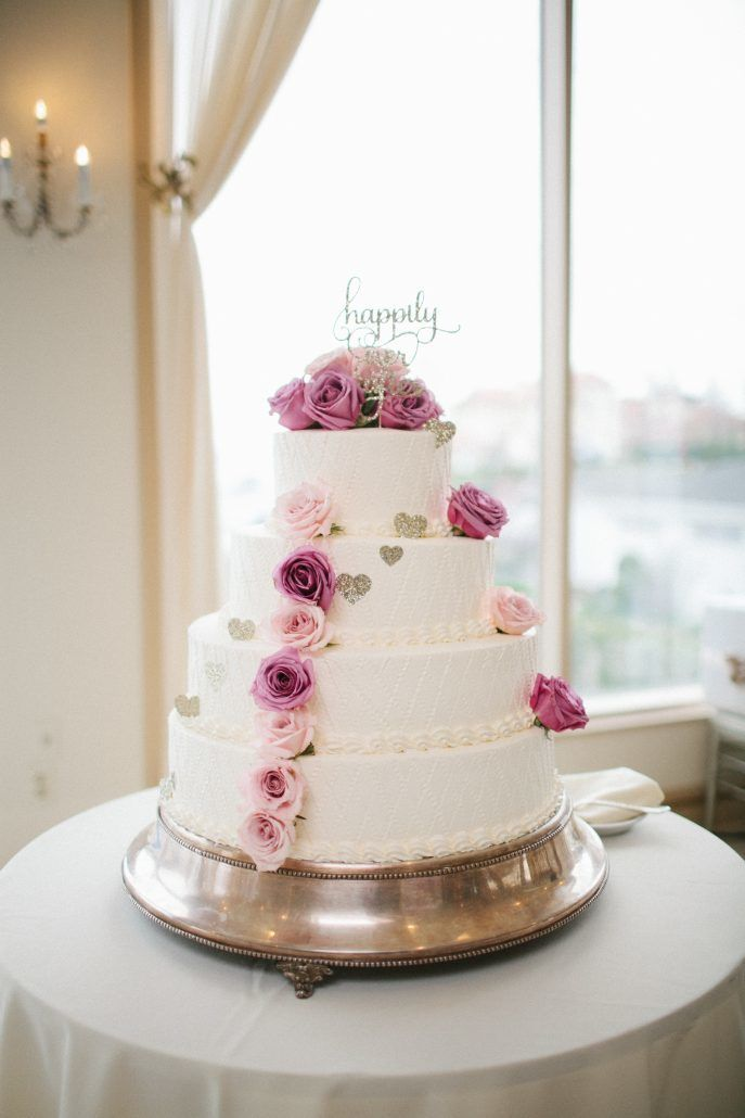 Pretty Sweet Wedding Cakes Inspired By Flowers