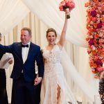 Jacqueline & Gary - Bride & Groom - Ceremony - Trump Soho - Casey Fatchett Photography