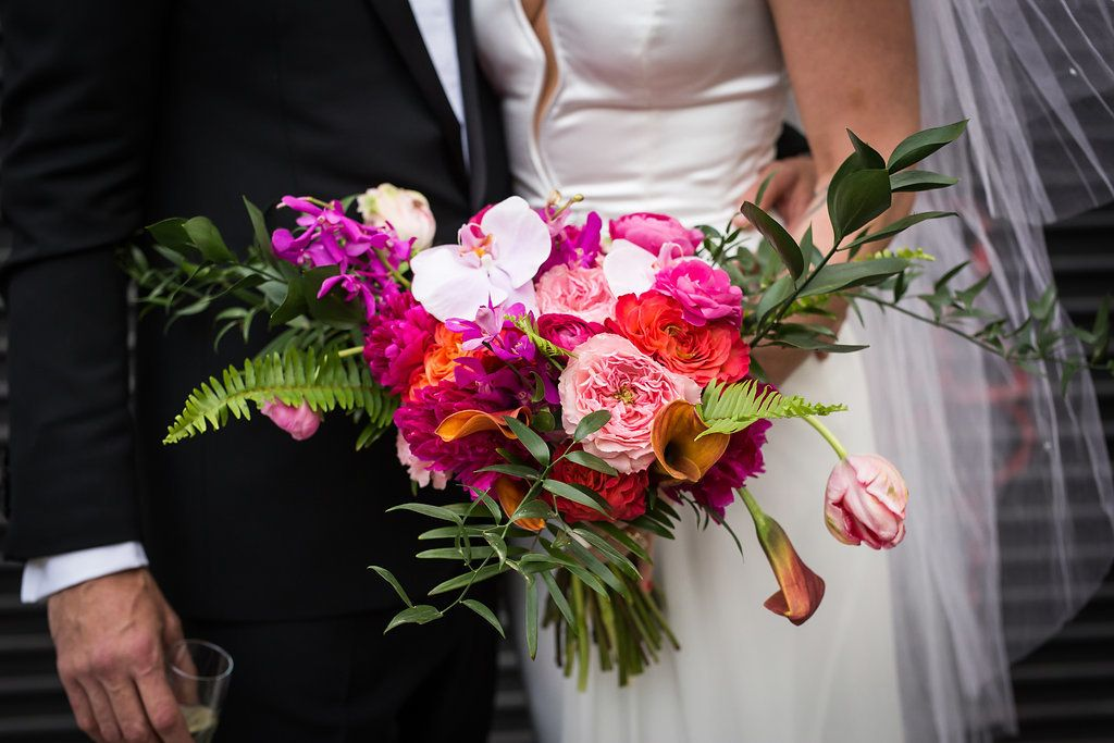 Lila & Johan - Bouquet - Music Hall of Williamsburg - Kamila Harris Photography