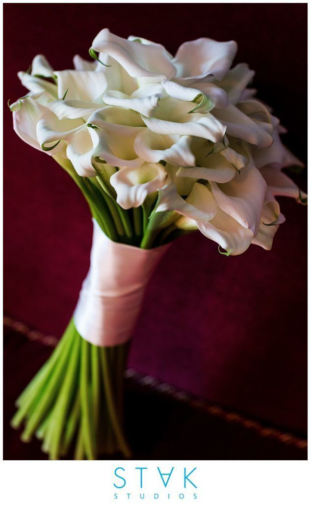 Mairin & Seo Wedding - Bridal Bouquet - Mini Calla Lily - Gramercy Park Hotel - Photography by Stak Studios
