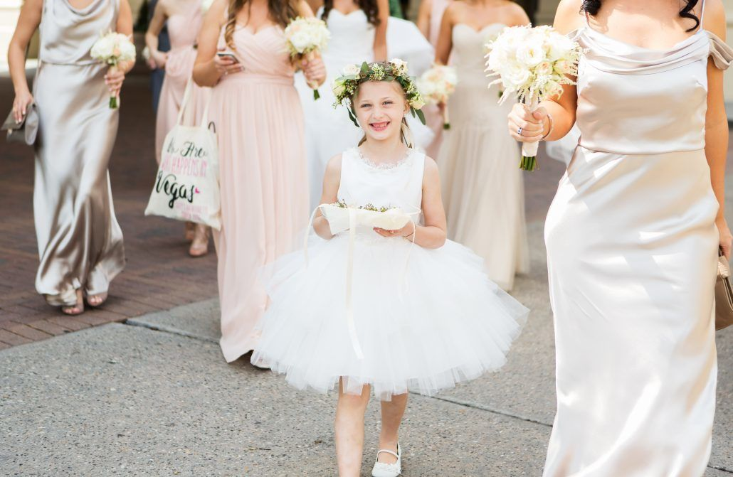 Suzy & Jerry - Flower Girl - Head Wreath - Bourne Mansion - Ryon Lockhart Photography