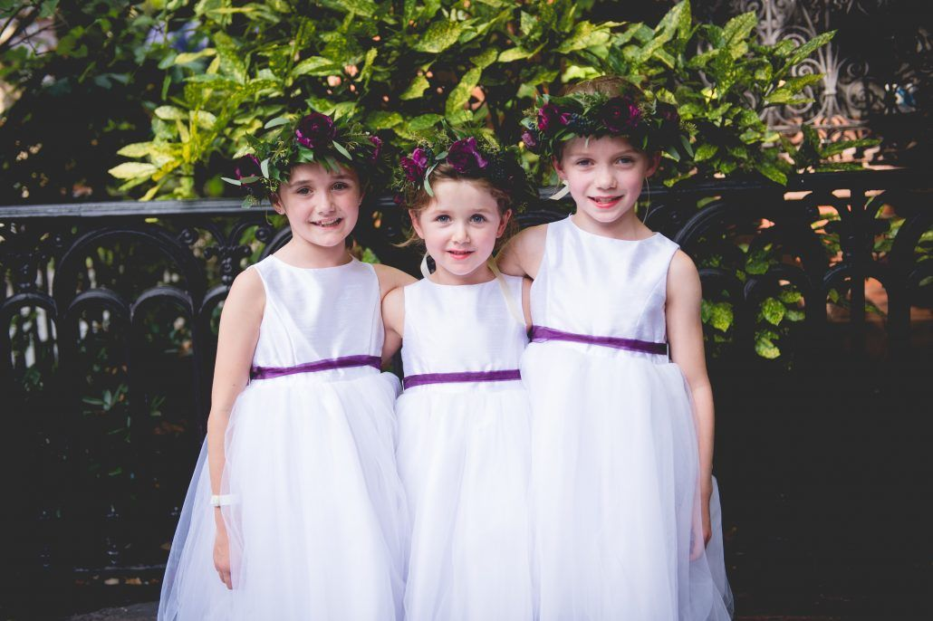 Rachel & Olly - Flower Girls - Flower Crowns - Manhattan Penthouse - Dreamlife Photography