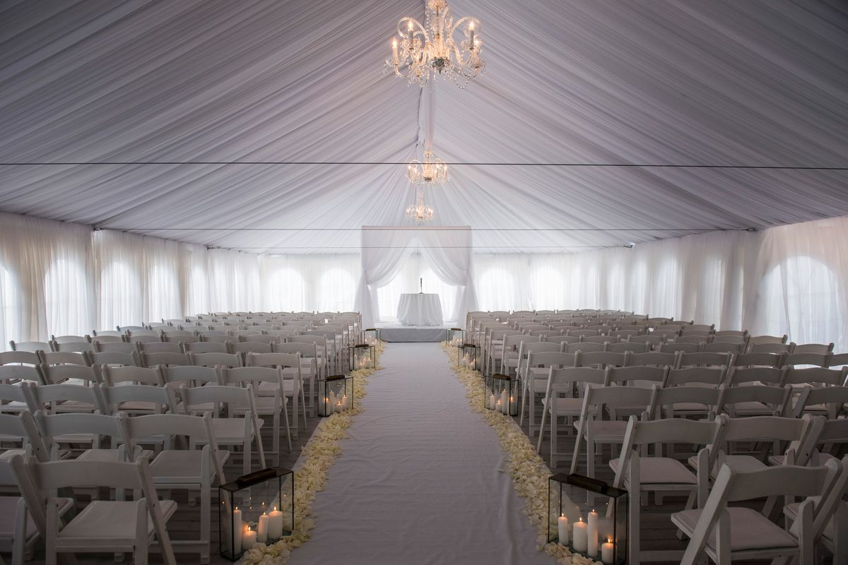 tent event draping in state gallery party rentals asp college pa drapes