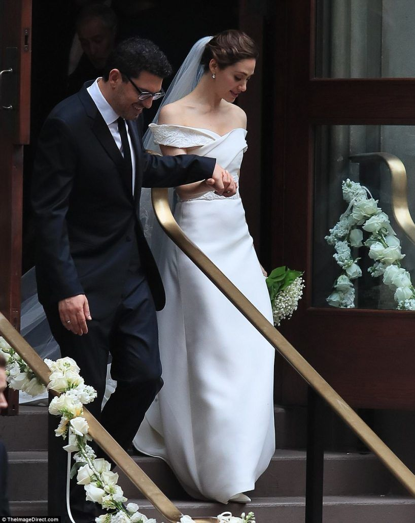 Emmy Rossum Wedding - via dailymail.co.uk