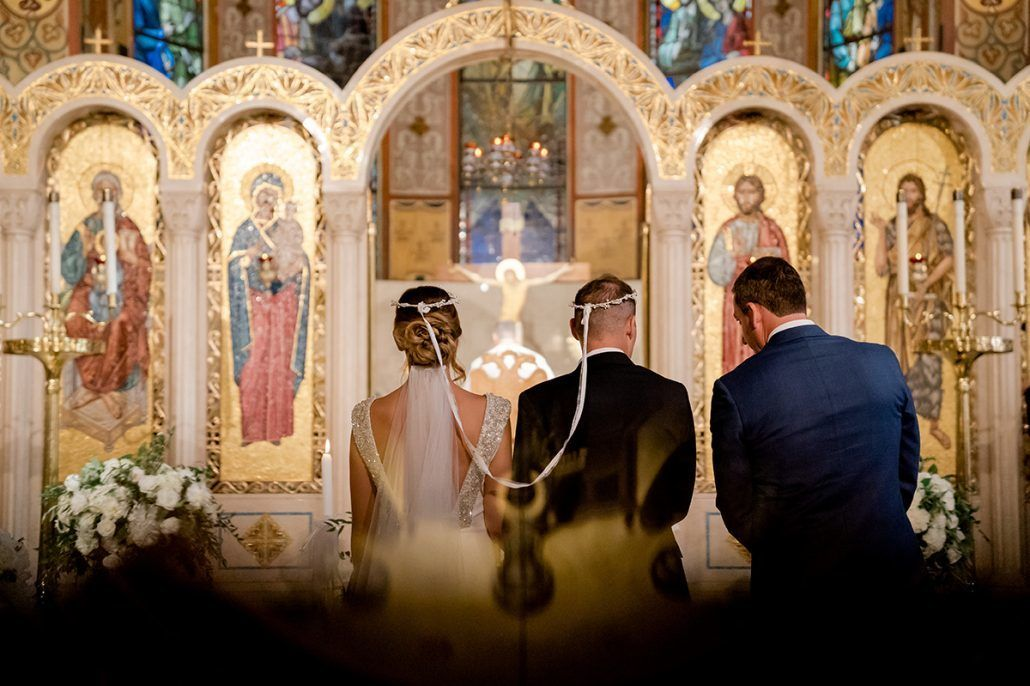 Aerin and Steven Wedding - Bride and Groom Ceremony - Holy Trinity Cathedral - Susan Shek Photography