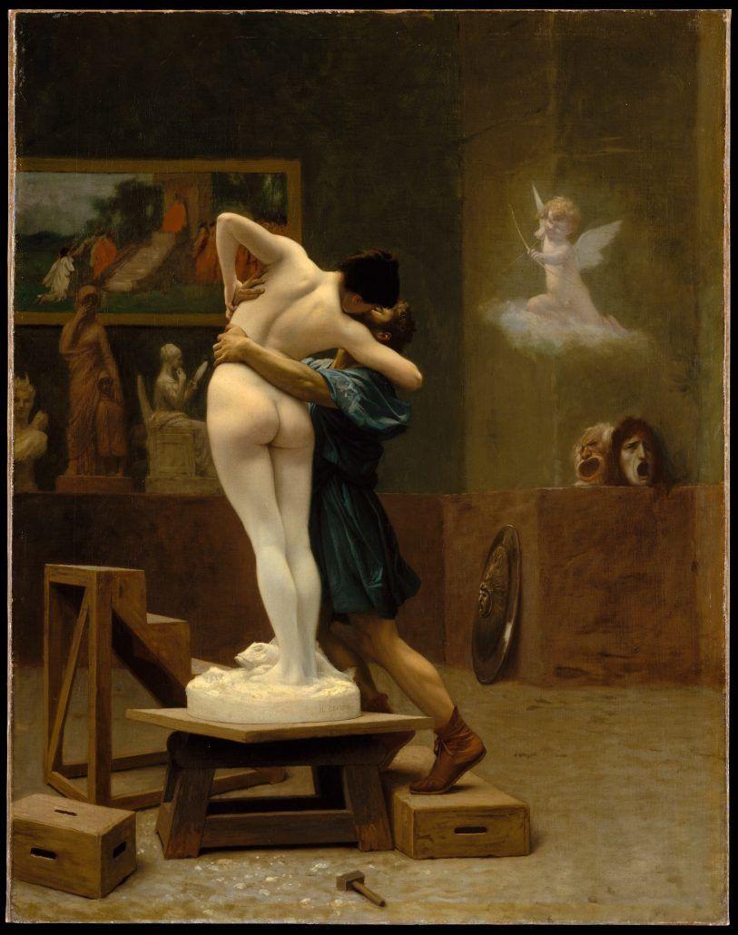 Pygmalion and Galatea - Jean-Léon Gérôme - via metmuseum.org