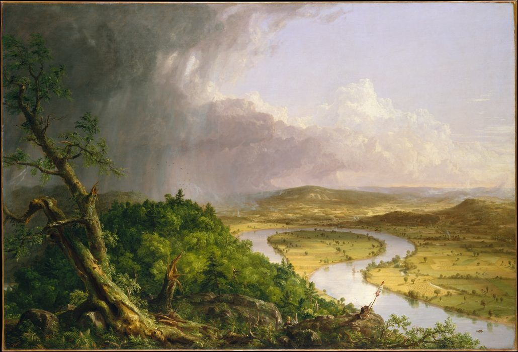 The Oxbow - Thomas Cole - via metmuseum.org