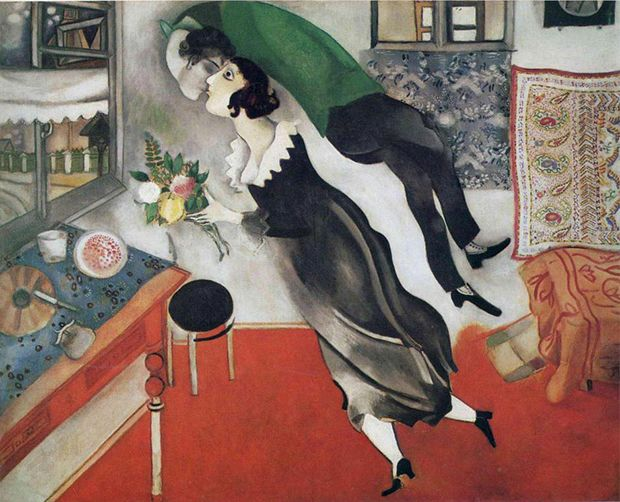 Birthday - Marc Chagall - via phaidon.com