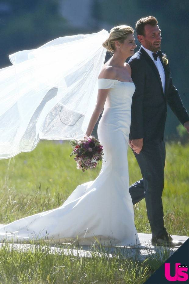 Erin Andrews Wedding - via usmagazine.com
