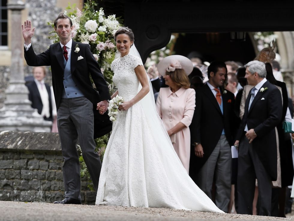 Pippa Middleton Wedding - via townandcountrymag.com