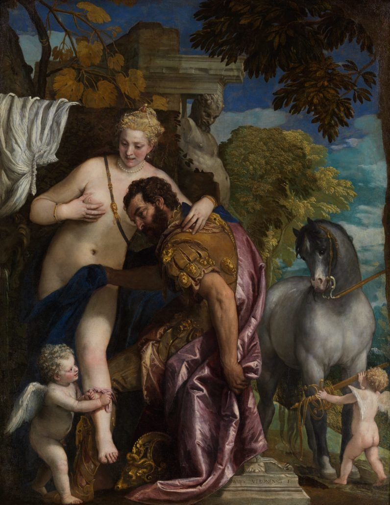 Mars and Venus United by Love - Paolo Veronese - via metmuseum.org