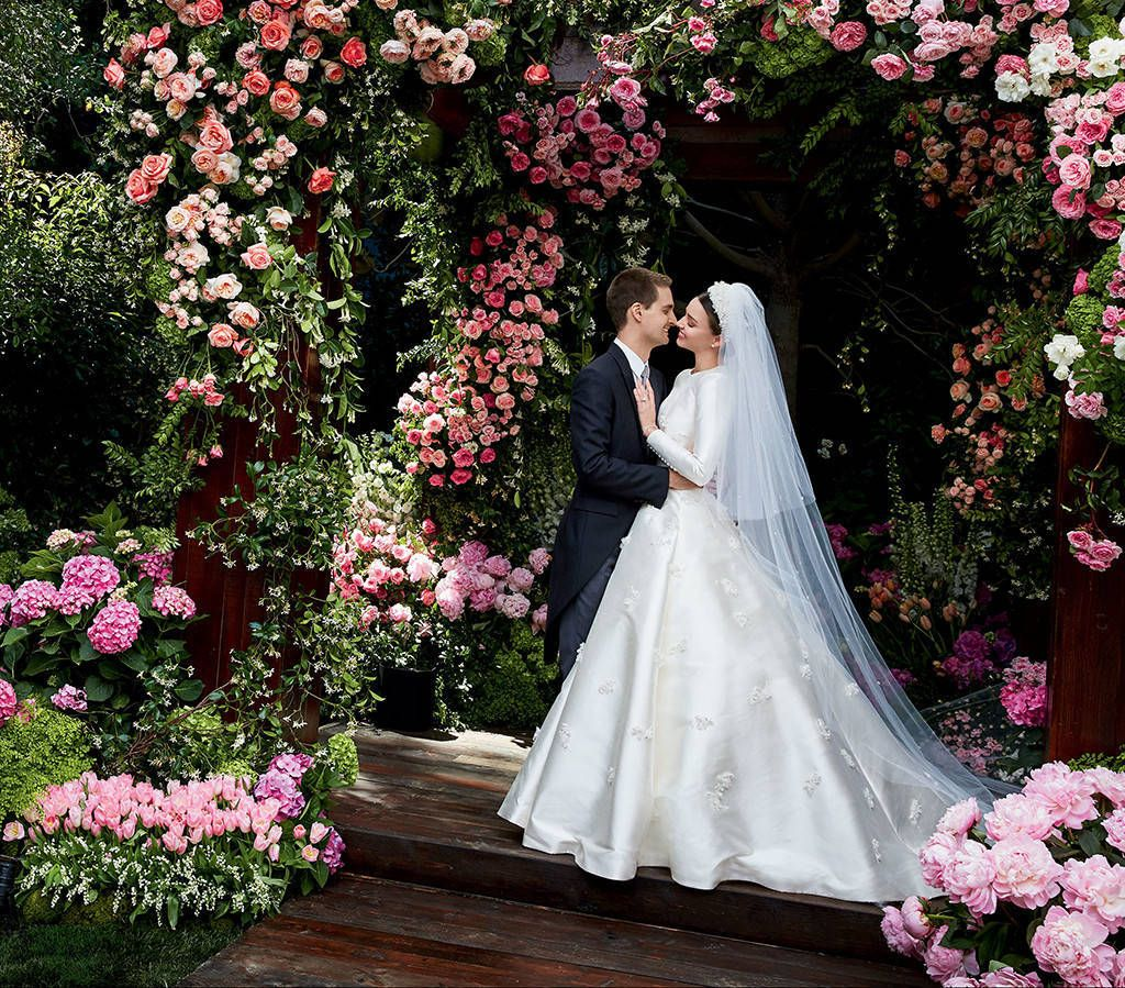 Miranda Kerr Wedding - Photo by Patrick DeMarchelier - via eonline.com