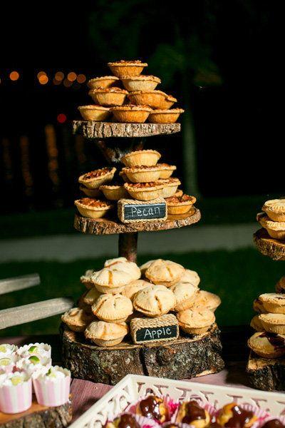 Wedding Mini Pie - via bridalguide.com