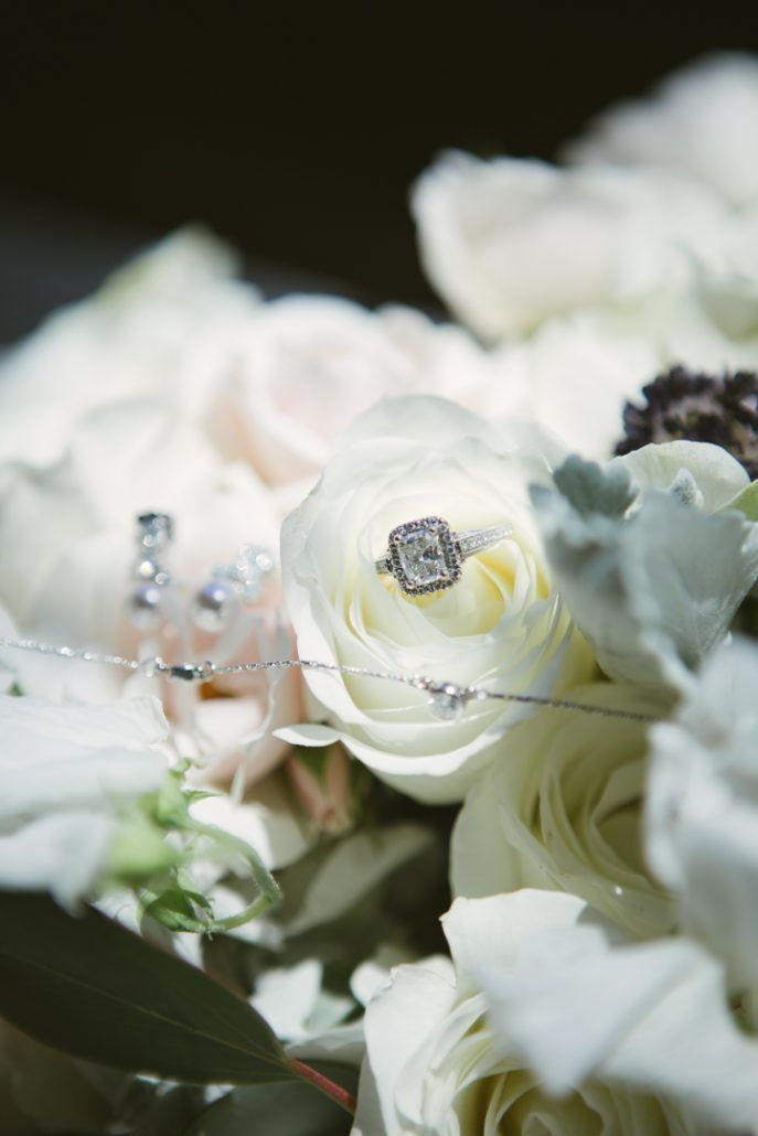 Christina & Derek Wedding - Wedding Ring Detail - The Foundry LIC - Kevin Markland Photography