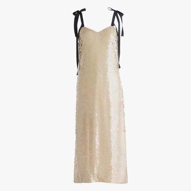 Sequined Dress by J.Crew - via jcrew.com