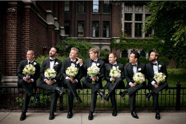 Groomsmen Photo Poses Wedding Ideas
