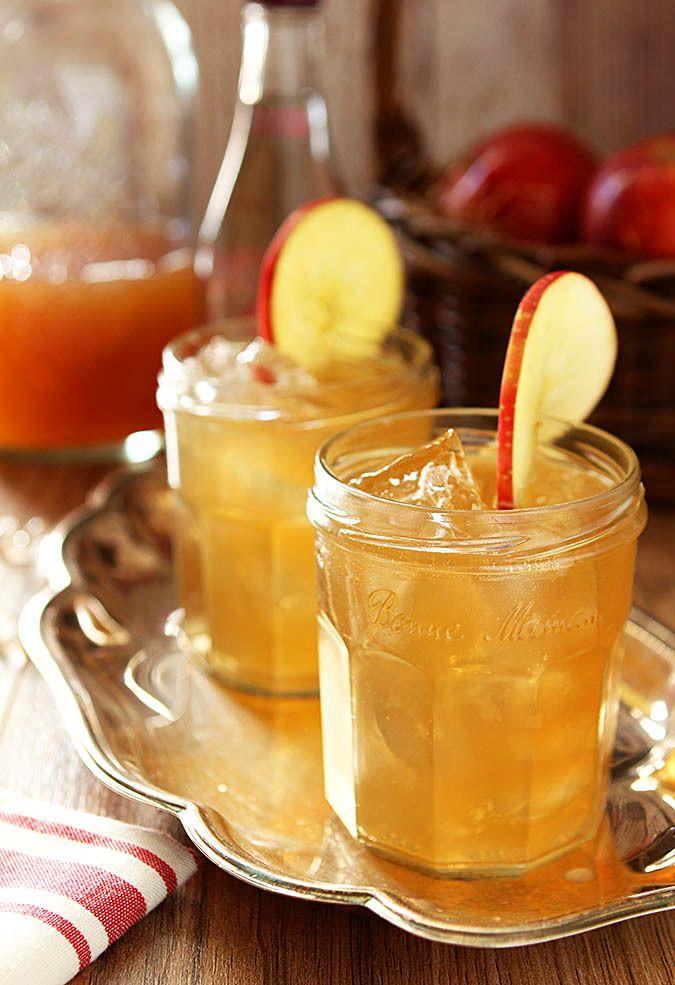 Bourbon Apple Cider - via creative-culinary.com